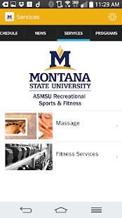 Montana State University Rec- screenshot thumbnail