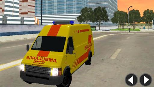 Télécharger Gratuit Ambulance Simulator Game Extreme APK MOD (Astuce) screenshots 3