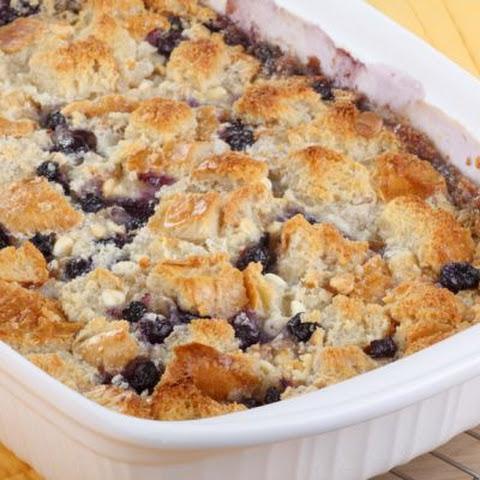 Sugar Free Blueberry Dump Cake