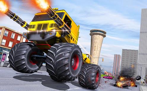 Download monster robot car transform: robot shooting war For PC Windows and Mac apk screenshot 9