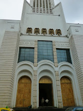Photo: Entrance to the modern cathedral, built after the '47 quake leveled the old one