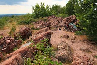 Photo: A kőzetrétegekben nem ritka a csecsemőfej nagyságú kavics sem