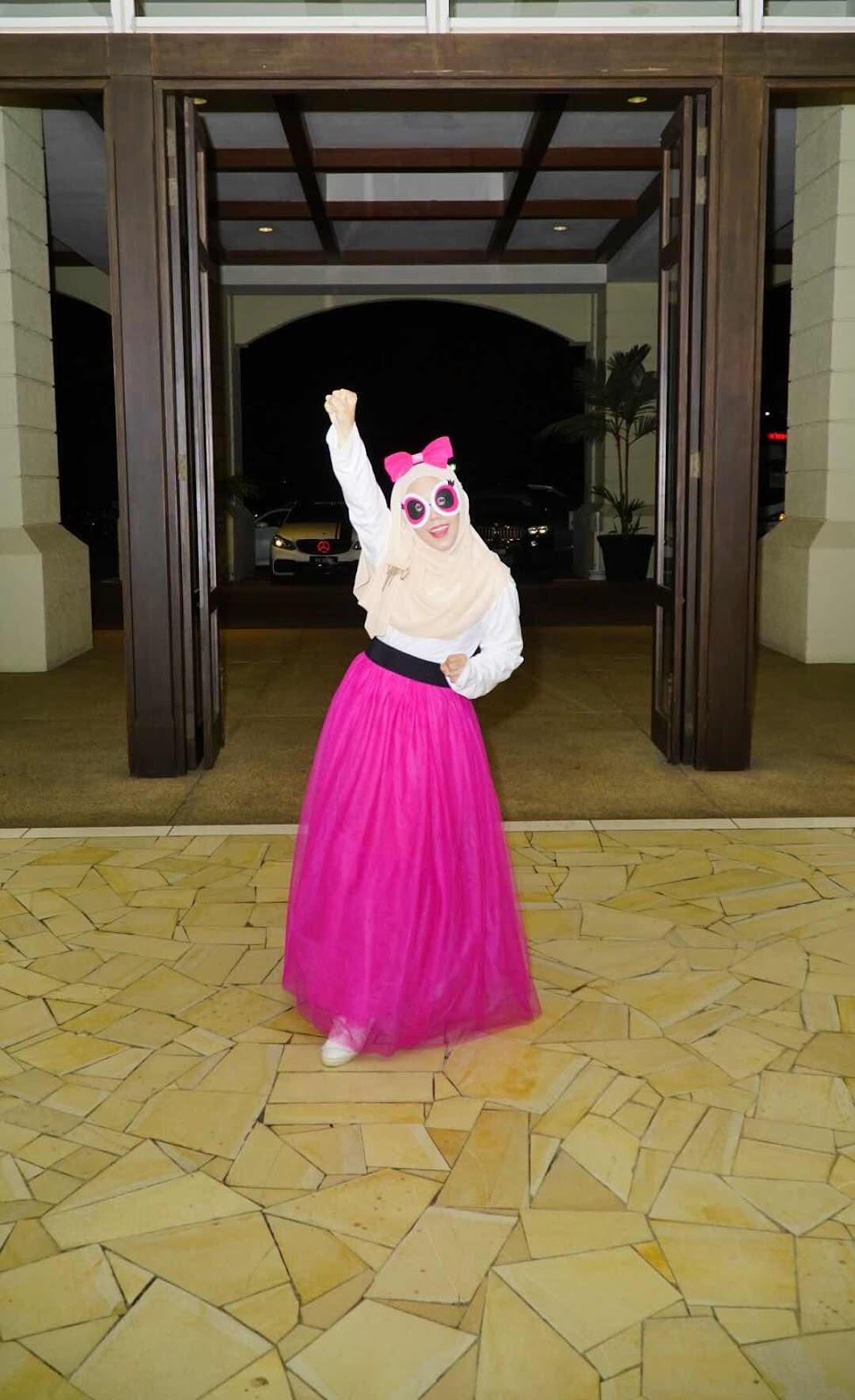 CDM Conference Bangi Therapants Murah Theravest Premium Beautiful Tutu Powerpuff Costume