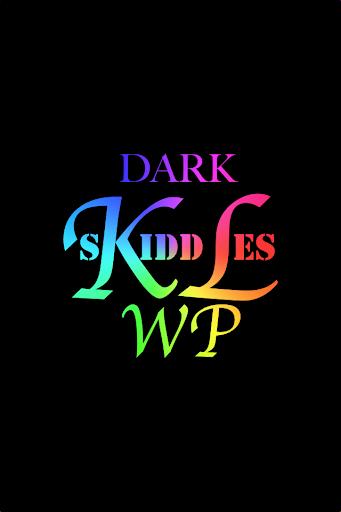 KLWP Dark Skiddles