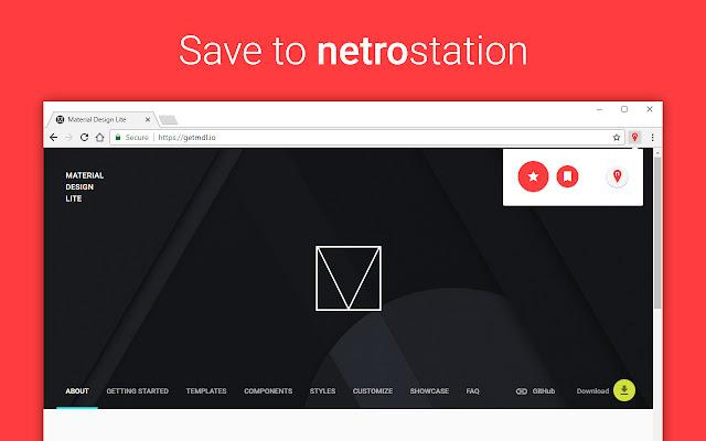 Save to netroStation
