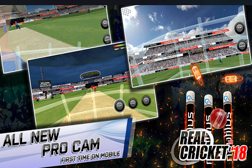 Real Cricketu2122 18 1.1 screenshots 2