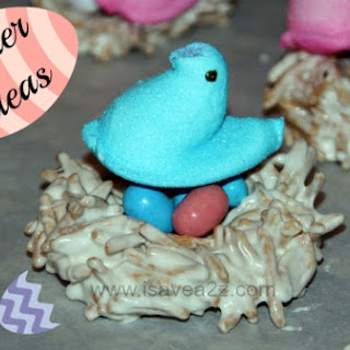 Edible Peeps Nests