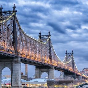 Queensboro Bridge - New York City by Ronald Susaya - Uncategorized All Uncategorized ( queensboro bridge, manhattan,  )