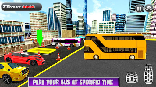 City Coach Bus Simulator Parking Drive 1.0.0 screenshots 3