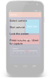 Spy Cam using Volume Button v1.0