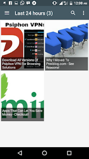 Prex Blog- screenshot thumbnail