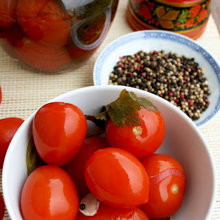 Russian Grandma's Pickled Tomatoes