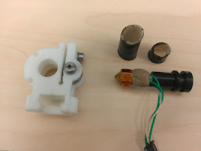 Photo: Hot end and mount, removed.