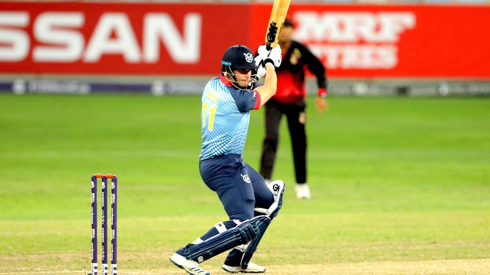 Steven Baard at the T20 World Cup Qualifier