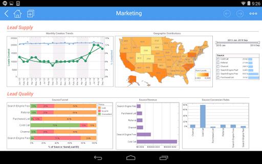 InetSoft Mobile Version 12.1 1.0.3 screenshots 10