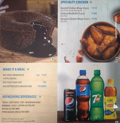 Domino's Pizza menu 7