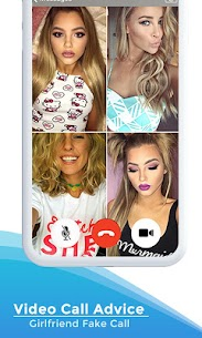 Video Call Advice Girlfriend Fake Call App Download For Android and iPhone 6