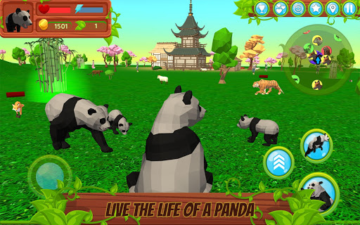 Panda Simulator  3D u2013 Animal Game modavailable screenshots 1