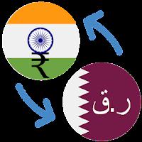 Indian Ru Qatari Riyal