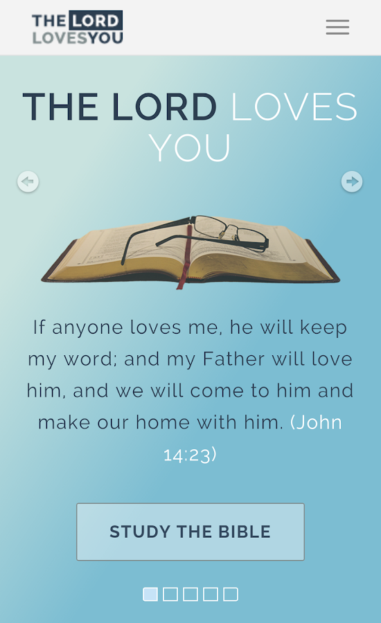 The Lord Loves You- screenshot