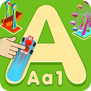 FunFair Tracing Book - Alphabets & Numbers Tracing
