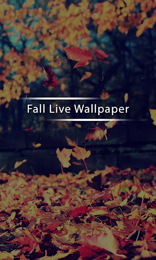Fall Live Wallpaper 1.0.4 screenshots 2