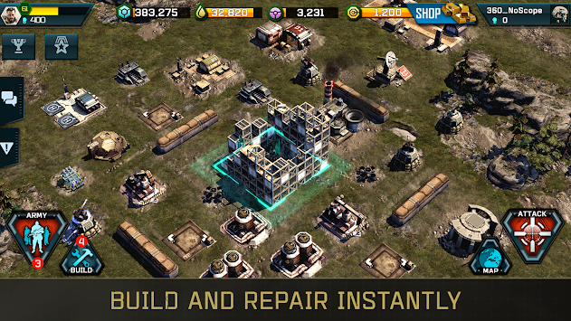 War Commander: Rogue Assault APK screenshot thumbnail 9