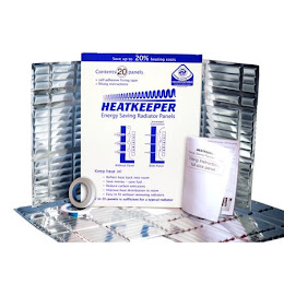 Panouri reflectorizante pentru izolarea caloriferelor, Heatkeeper