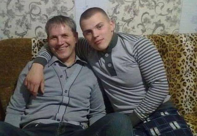 Александр Орлов с сыном Сергеем. Фото: fakty.ua