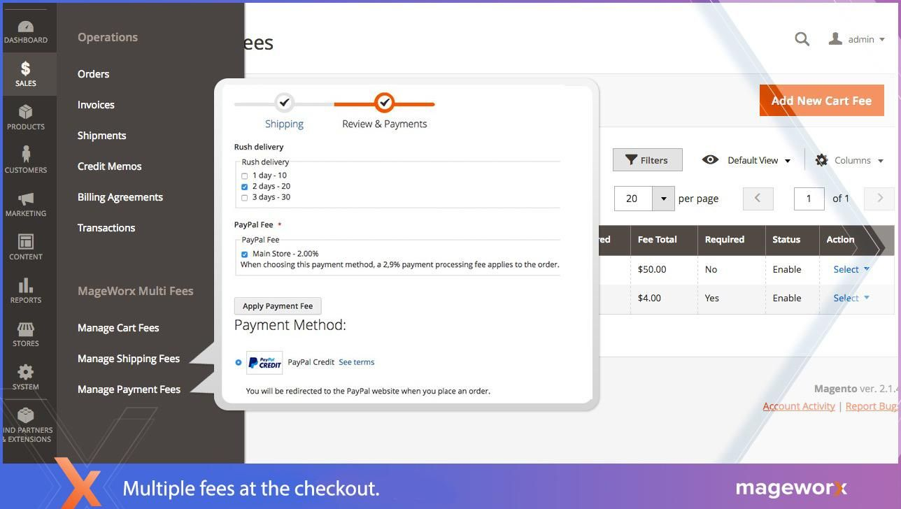 best Magento extra fee extension