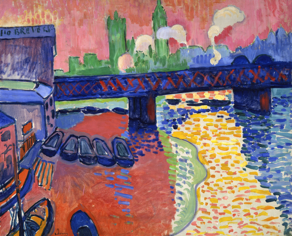 André Derain  Charing Cross Bridge, London