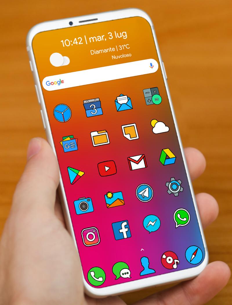 CRISPY HD - ICON PACK Screenshot 0