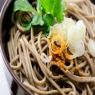Japanese Soba Noodles.