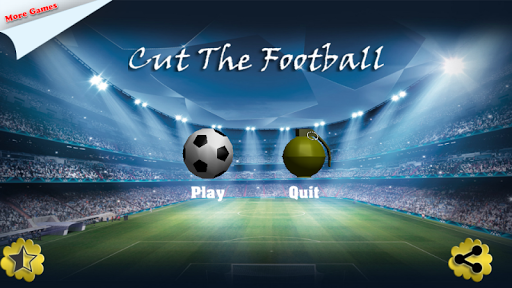 Cut the Football Ninja