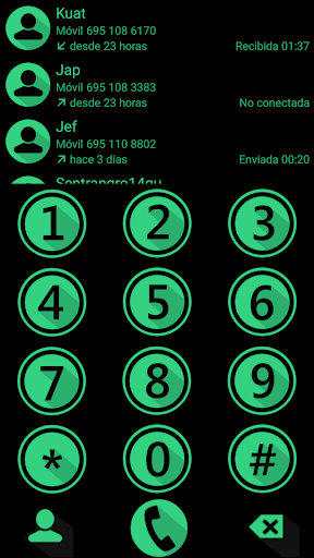 THEME MATERIAL M GRE2 EXDIALER