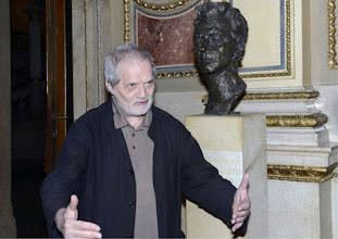 Photo: Interview mit Peter Eötvös in der Wiener Staatsoper am 26.2.2016. Peter Eötvös. Copyright: Barbara Zeininger