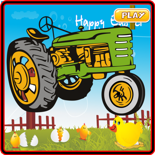 Farm Tractor Racing Castle Run