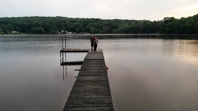 Photo: First night at the cottage, after the rain stopped.