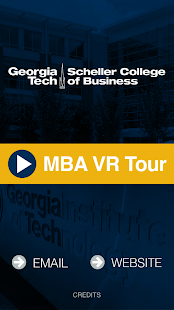 Georgia Tech MBA VR- screenshot thumbnail