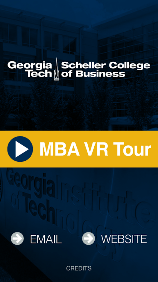 Georgia Tech MBA VR- screenshot