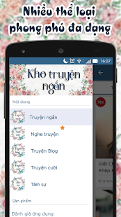 Kho truyen ngan ( Kho truyện ngắn offline ) - náhled