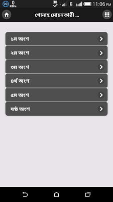 গোনাহ মোচনকারী আমল সমূহ - screenshot