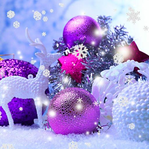 クリスマスの飾りの壁紙