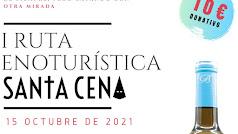 Cartel de la ruta etnoturística organizada para el 15 de octubre.