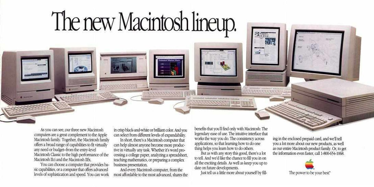 There are hundreds more old Apple ads and brochures on macmothership.com.
