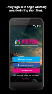 Miniflix - náhled