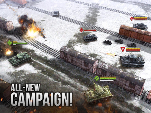 Armor Age: Tank Wars u2014 WW2 Platoon Battle Tactics apkpoly screenshots 8