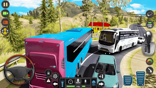 Modern Bus Simulator Drive 3D: New Bus Games Free apkmr screenshots 14