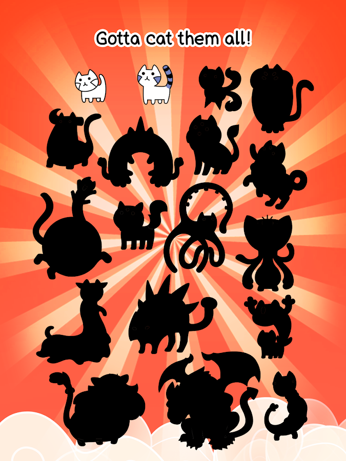 Cat Evolution Game All Cats