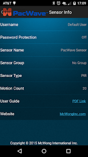 PacWave Sensor- screenshot thumbnail
